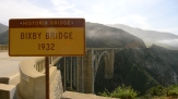 Bixby Bridge on the Big Sur portion of HWY 1