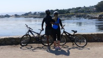 Biking in Pacific Grove
